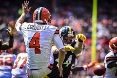 Steelers (21) Browns (18)