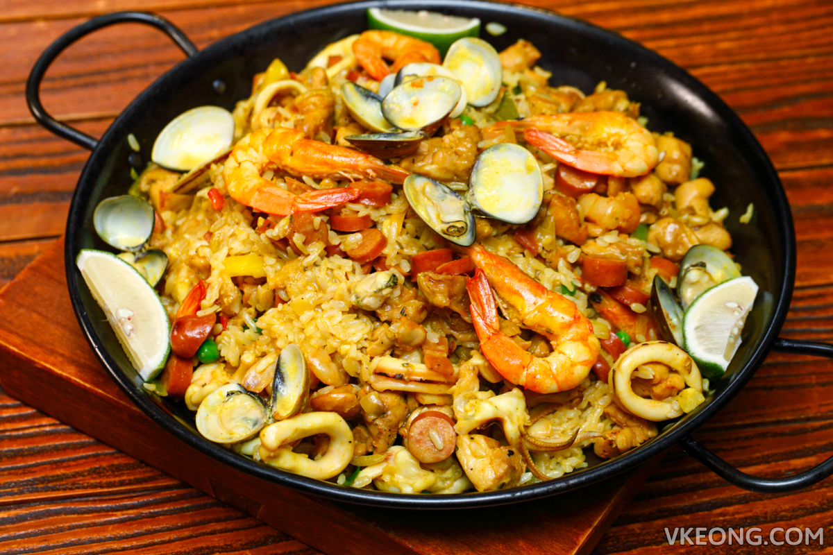 Le Ble d'Or Seafood Paella