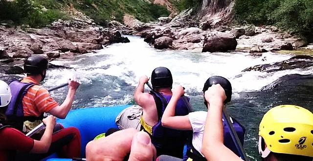Rafting trip on Neretva