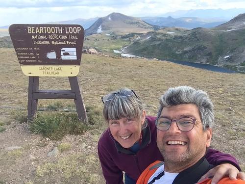 Beartooth Linda and Pierre selfie