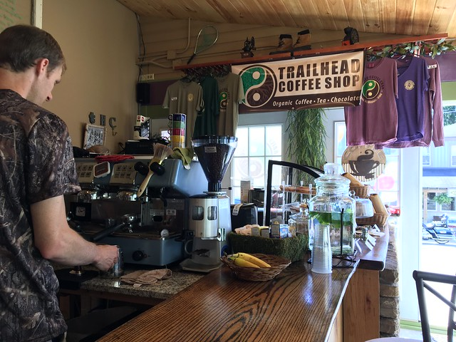 Trailhead coffee shop