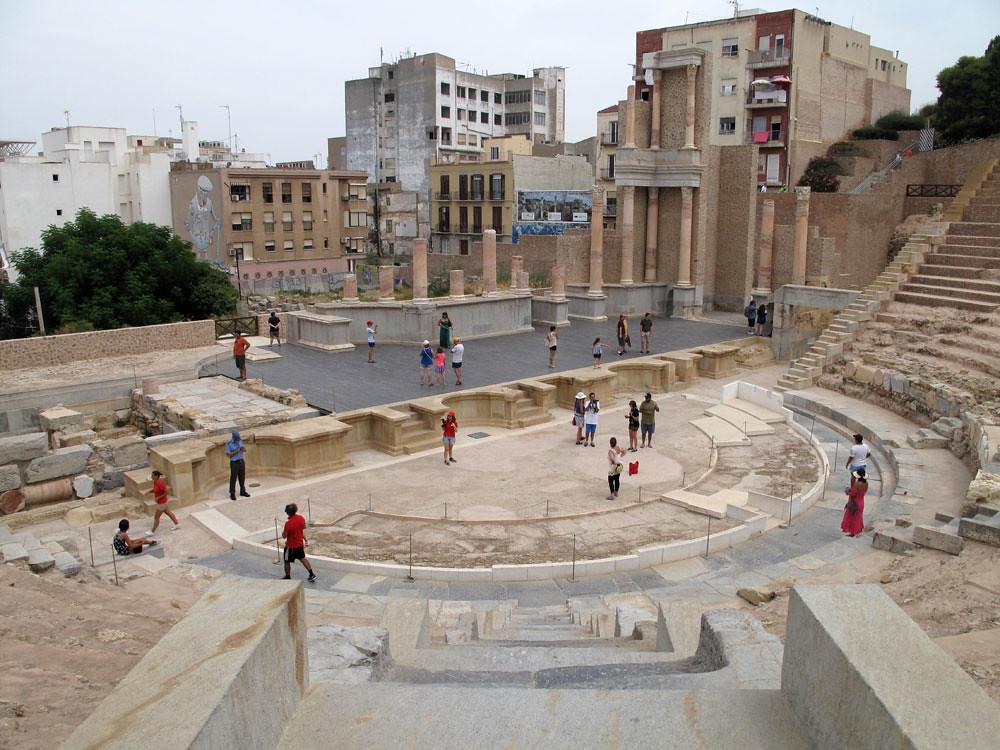 museo teatro cartagena_patrimonio_rafael moneo_intervención_premio europa nostra_panorámica