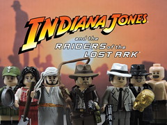 Custom Lego Indiana Jones Raiders of the Lost Ark: Minifigures