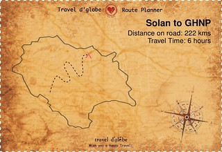 Map from Solan to GHNP