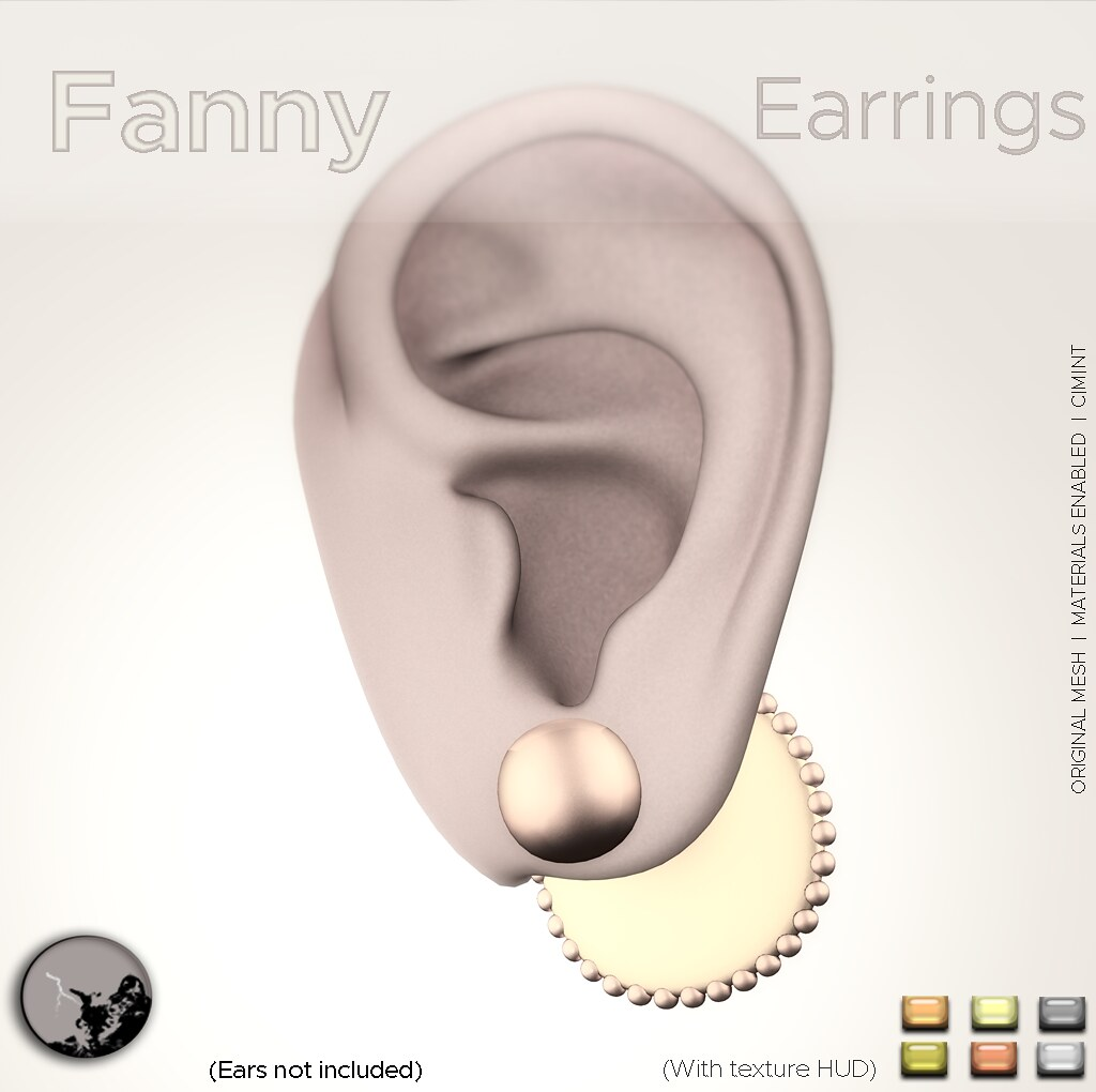 Fanny Earrings @ the Hidden Chapter - TeleportHub.com Live!