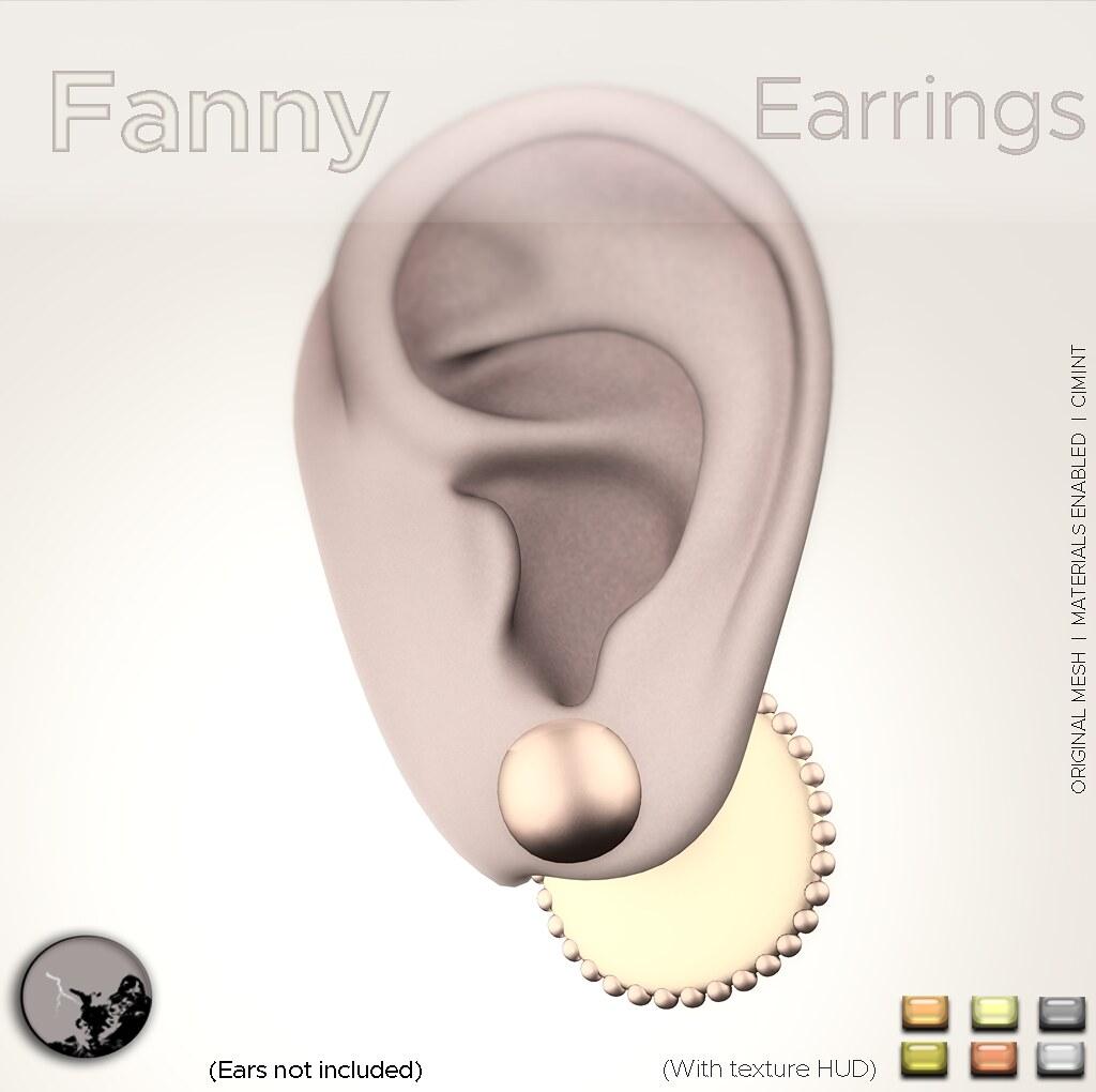 Fanny Earrings @ the Hidden Chapter
