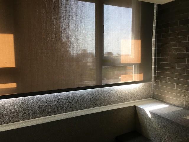 早上來泡一下房間內的溫泉吧@宜蘭捷絲旅礁溪館