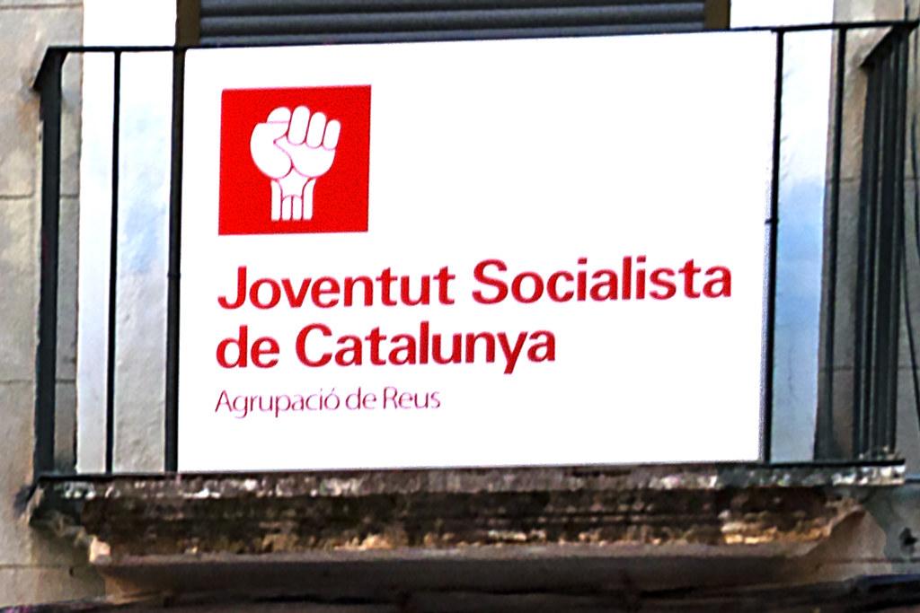 Joventut Socialista de Catalunya--Reus (detail)