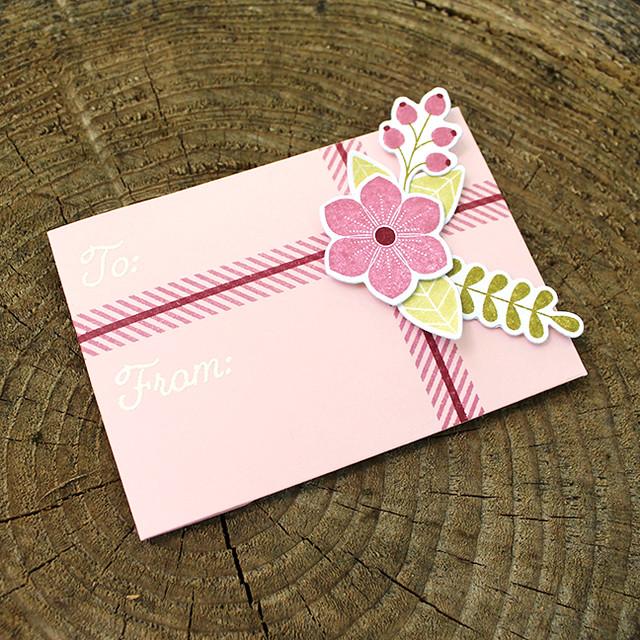 Floral Gift Card Holder 2