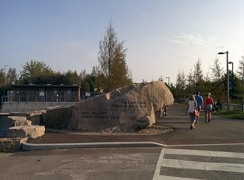 Entering Trillium Park