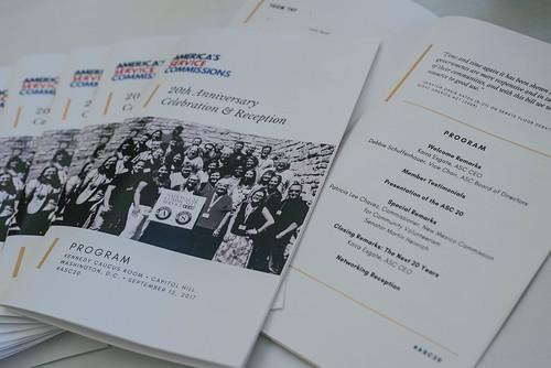 ASC 20th Anniversary Celebration & Reception