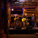 Neil Murray performing at the Nyang Woolshed in Moulamein, NSW by David Redfearn