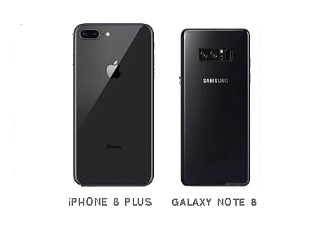 Comparaison : La caméra de l'iPhone 8 Plus vs celle du Galaxy Note 8