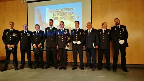 Policía Nacional acto del día del Patrón y condecoraciones
