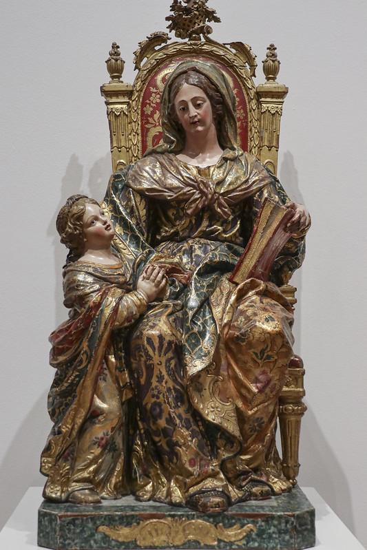 St. Anne and the Virgin, 1783-84, Joaquim Machado de Castro