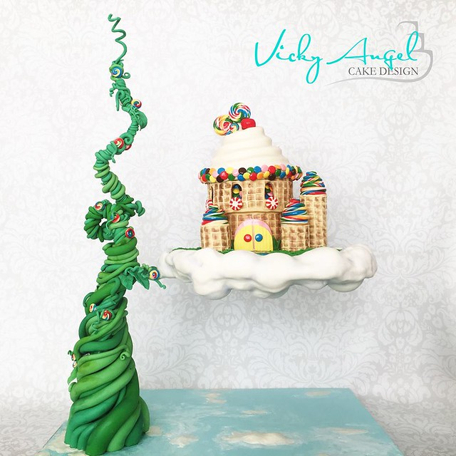Cake by Vicky Angel Cake Design