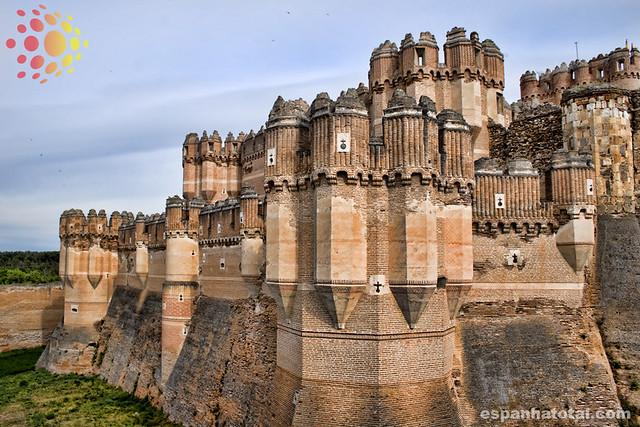 castelos da Espanha: castillo de Coca