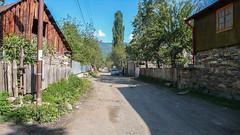 Droga z Latneki do Ushguli. Wioska w Lashkheti.