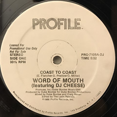 WORD OF MOUTH:COAST TO COAST(LABEL SIDE-A)