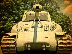 WWII Sherman Army Tank