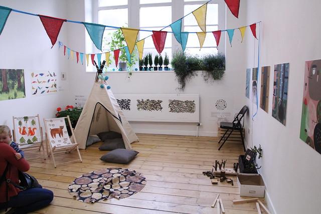 Trumpet and Kite Polish design festival