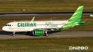 Ctitilink A320-251N 7834