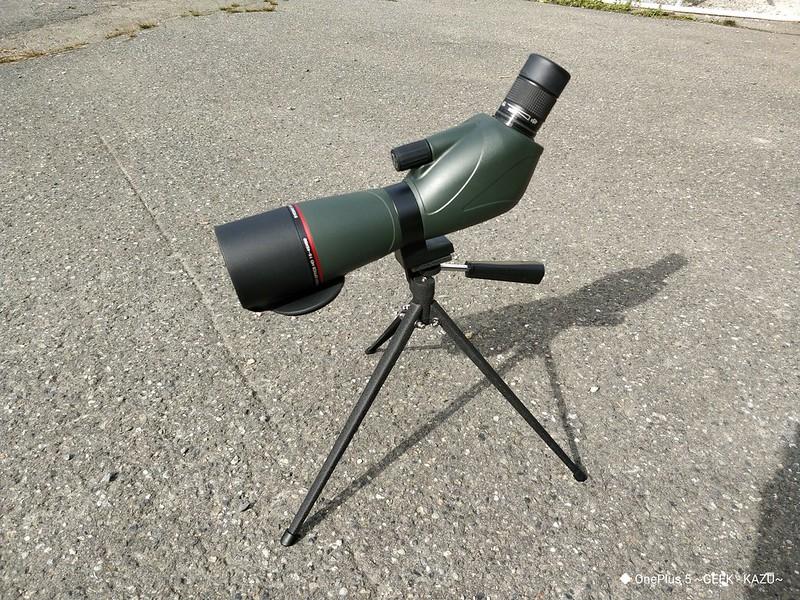 Eyeskey EK8345 望遠鏡 開封レビュー (51)
