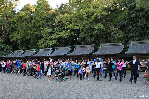 Autumn Festival at Munakata Taisha shrine