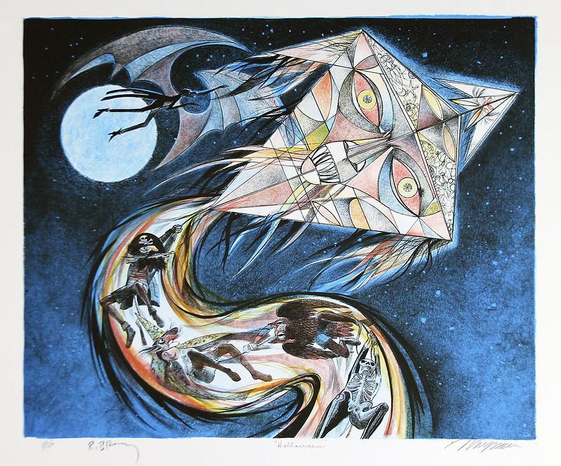 Joseph Mugnaini - The Halloween Kite,  1981