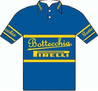 Bottecchia Pirelli - Giro  d'Italia 1950