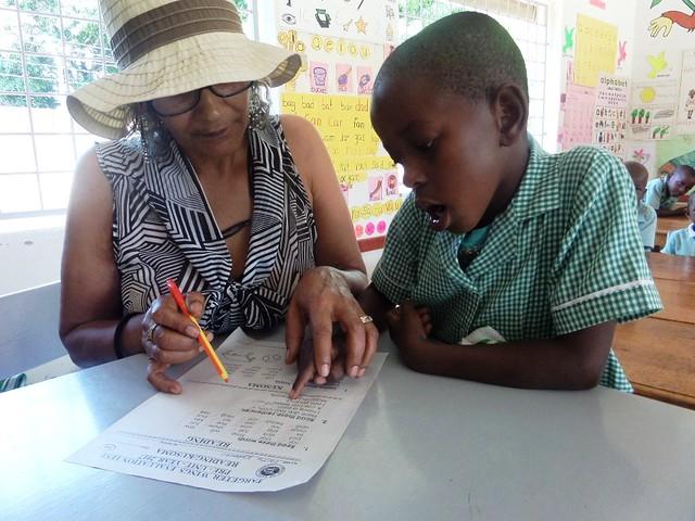 Mama Waseema assists in KG