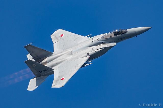 Komatsu AB Airshow Rehearsal 2017.9.14 (19) 303SQ F-15J #827