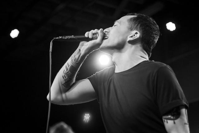 Jeremy Bolm of Touché Amoré - Motorco Music Hall - 9/26/2017