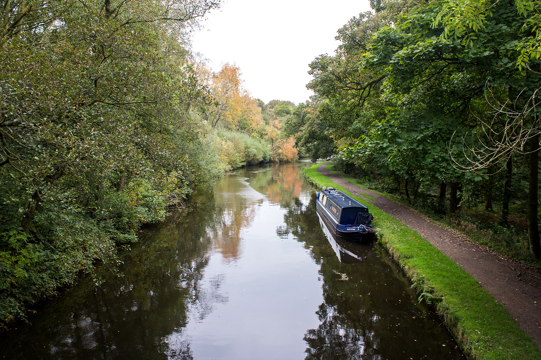 Woodland Walk to Haigh Hall | Canal Boat
