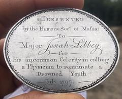 1797 Josiah Libbey medal obverse