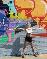 Hula Hoop Dancer, Bushwick, Brooklyn, New York City