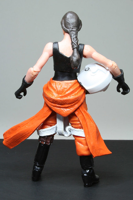 Custom female X-wing Pilot with helmet