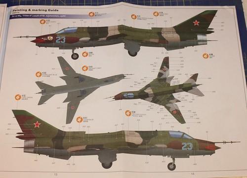 Sukhoi Su-17M3/M4 Fitter K, Kitty Hawk, 1/48 36962595454_c32d23dfc0