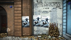 Deus Ex: Mankind Divided - Prague, Posters on the street