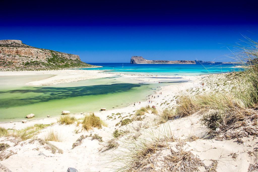 Balos Beach Sands - Crete, Greece