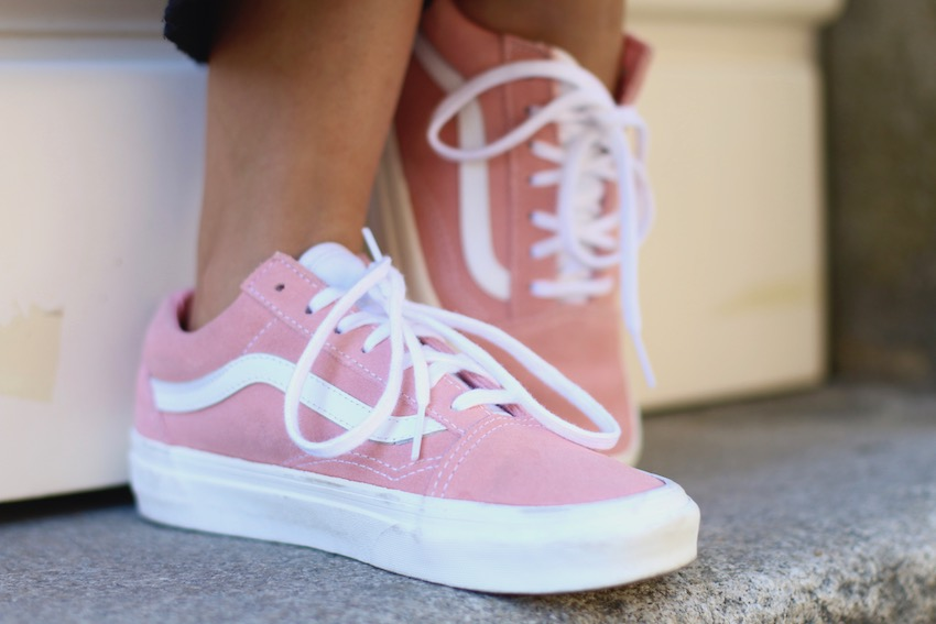 Vans Old Skool rosas