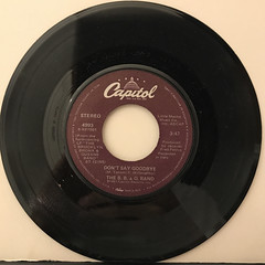 THE B.B. & Q. BAND:ON THE BEAT(RECORD SIDE-B)