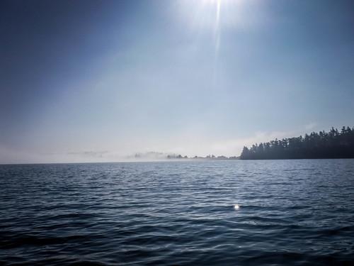 Samish Island Paddling in Fog-40