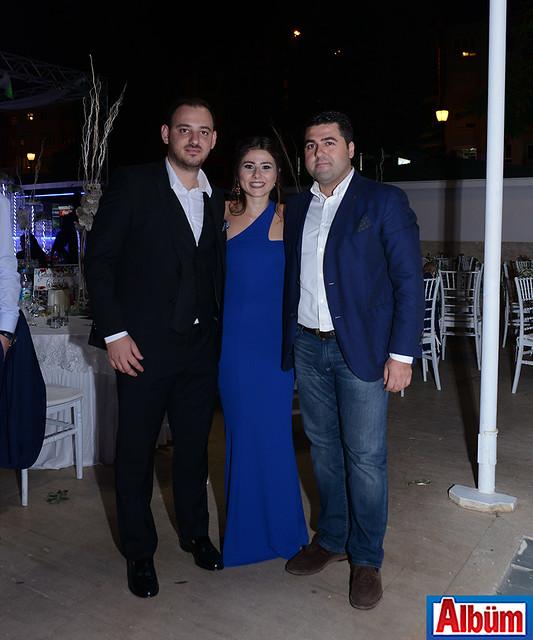 ALTSO Başkan Yardımcısı Serdar Uygun da düğündeydi.