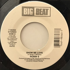 ROBIN S:LOVE FOR LOVE(LABEL SIDE-B)