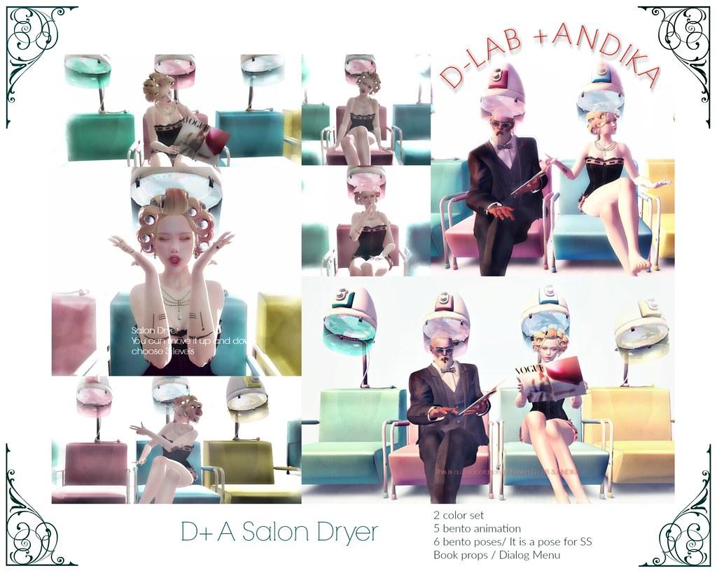 [D+A Salon Dryer]AD:D-LAB+ANDIKA