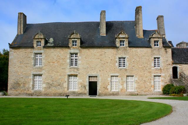Manoir de Kernault , commune de Mellac, Pays de Quimperlé (Bretagne, Finistère, France)
