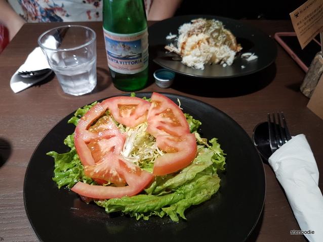 Blacksmith Tea House salads