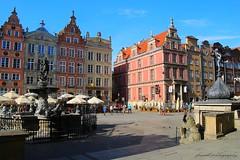 Gdansk, Poland. First acquaintance - main street (Dlugi Targ)