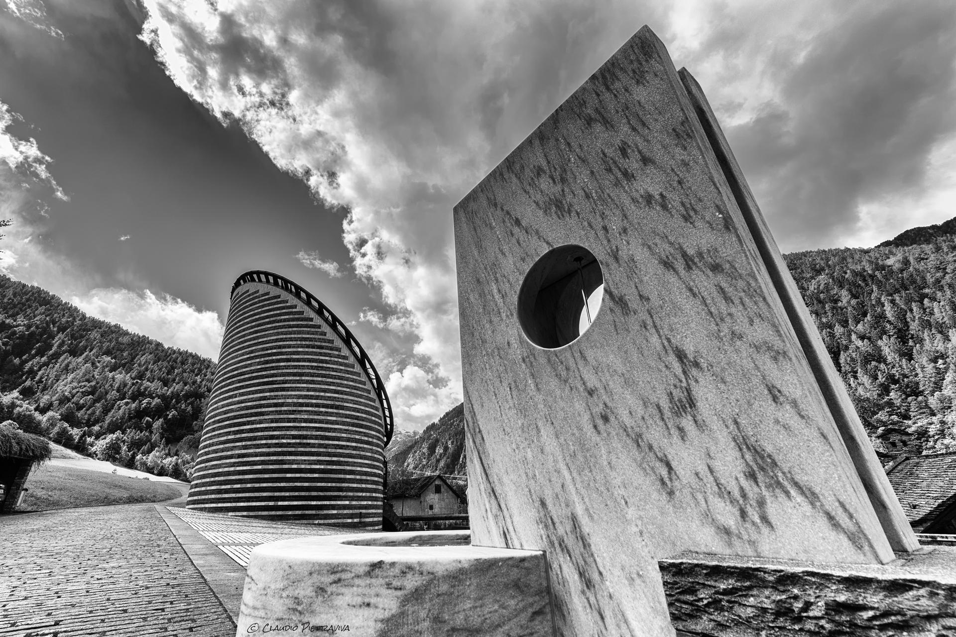 Progetto - Chiesa San Giovanni Battista a Mogno